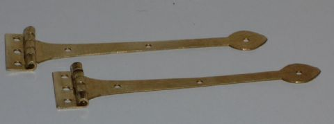 Working Strap Hinge - Brass